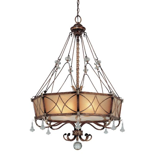 Minka Lavery Aston Court 6 Light Drum Pendant
