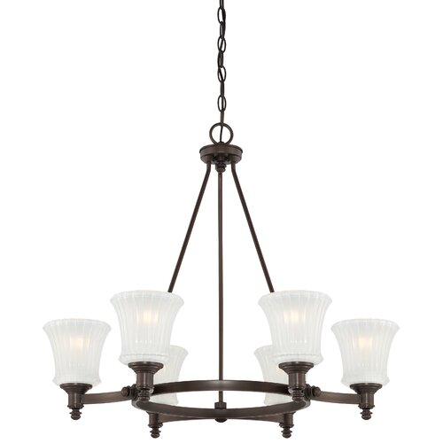 Minka Lavery Hayvenhurst 6 Light Chandelier