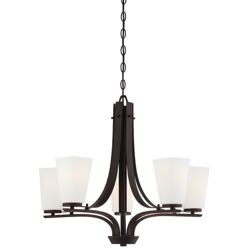 Zacara 5 Light Chandelier