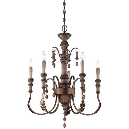 Candlewood 5 Light Chandelier
