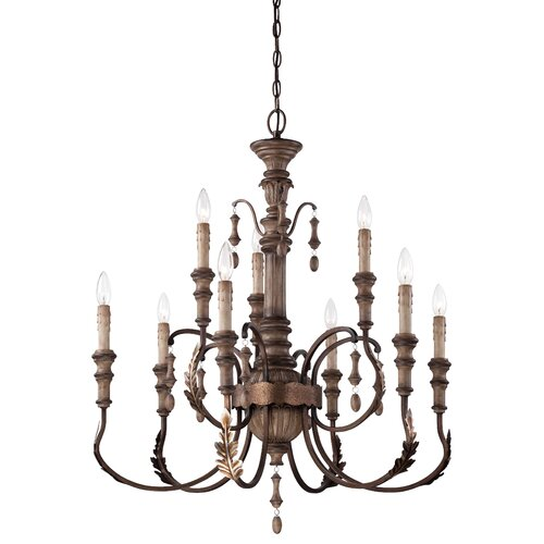 Candlewood 9 Light Chandelier