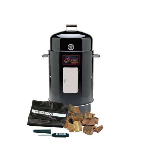 Brinkmann Gourmet Charcoal Smoker Value Pack