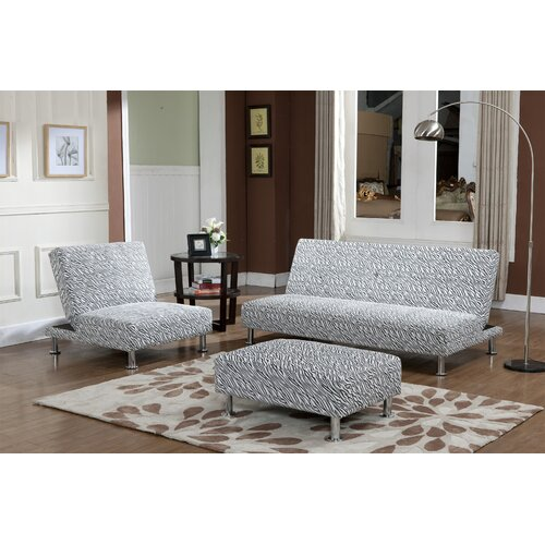 InRoom Designs Klik Klak Convertible Sofa