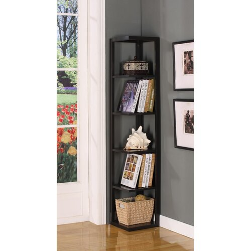 "InRoom Designs 64"" Corner Bookcase"