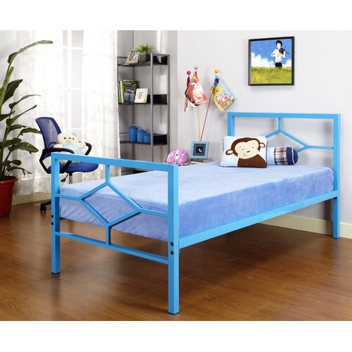 InRoom Designs Casey Twin Metal Bed