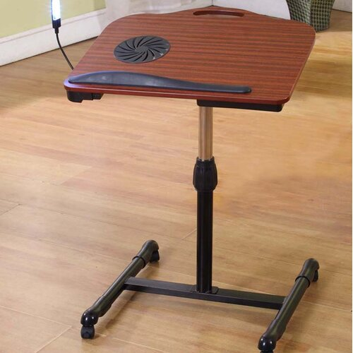 InRoom Designs Adjustable Laptop Table Stand