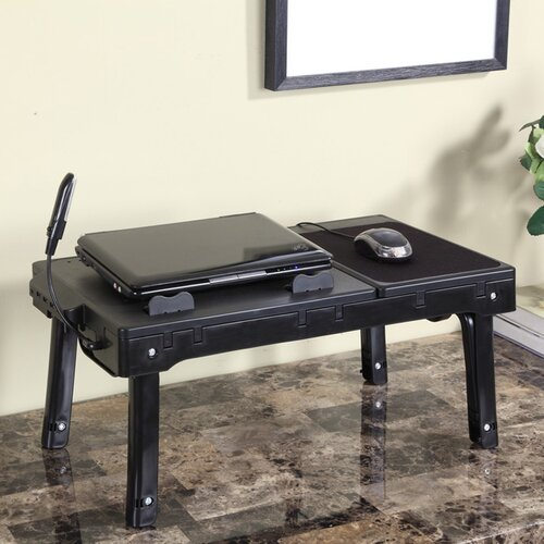 InRoom Designs Laptop Table Stand  with 4 Port USB
