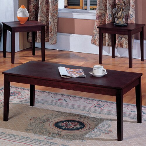 Veropeso 3 Piece Coffee Table Set: InRoom Designs 3 Piece Coffee Table Set & Reviews