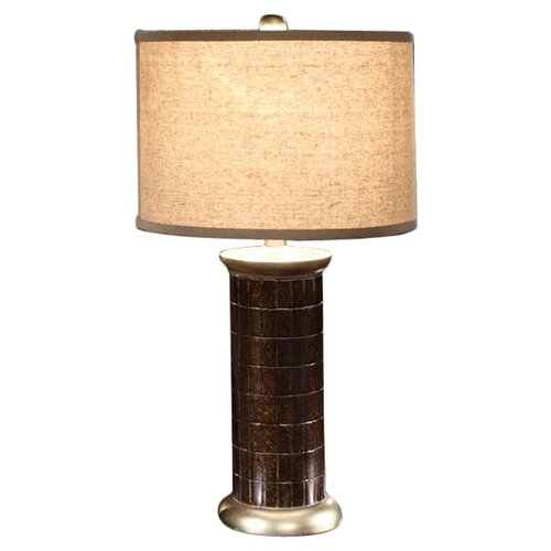 "InRoom Designs 28"" H Table Lamp with Drum Shade"