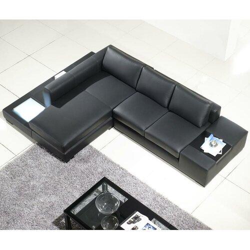 Modern Compact Sectional Sofa