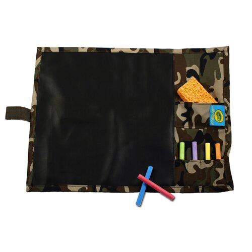 Doodlebugz Crayola Chalkboard Placemat in Pink Stripe