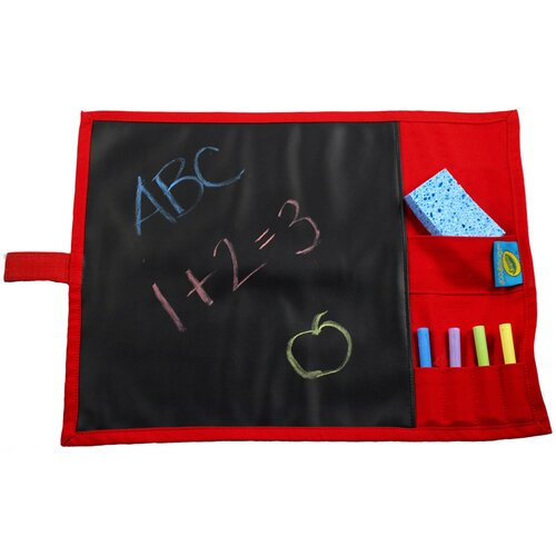 Doodlebugz Crayola Chalkboard Placemat in Red