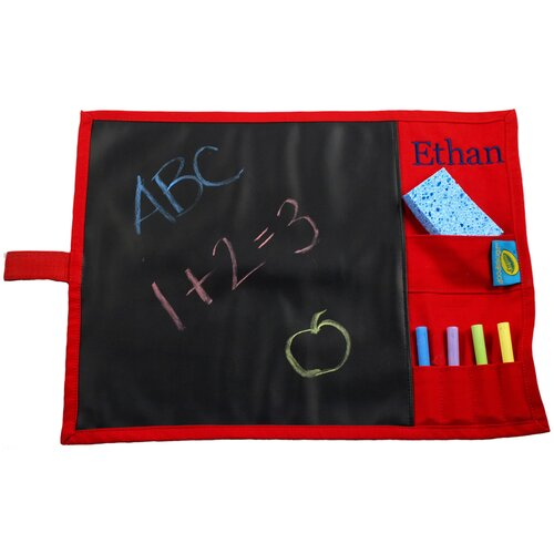Princess Linens Doodlebugz Crayola Chalkboard Placemat in Red