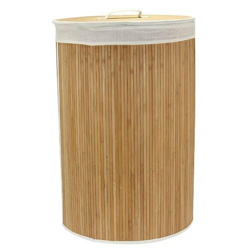 Round Natural Bamboo Liner Bag and Trim