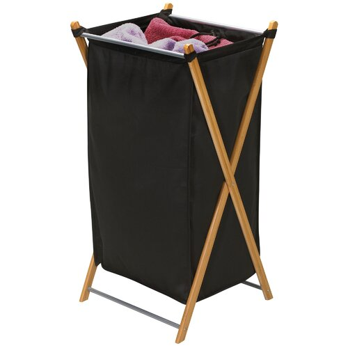 Bamboo X-Hamper with 600D Polyester Bag