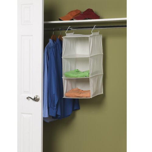 Household Essentials Storage and Organization 3 Shelf Sweater Organizer