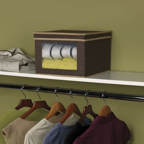 Household Essentials Storage and Organization Vision Box