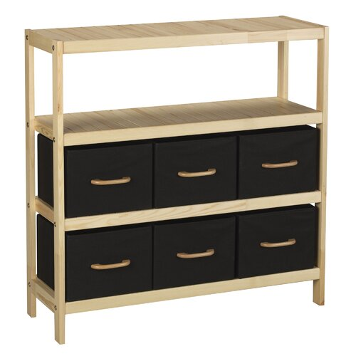 Storage Stand with 6 Bins