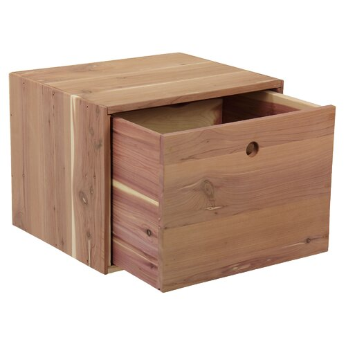 Cedar Box with Drawer