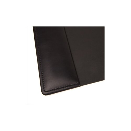 Bosca Nappa Vitello Home Desk Pad in Black