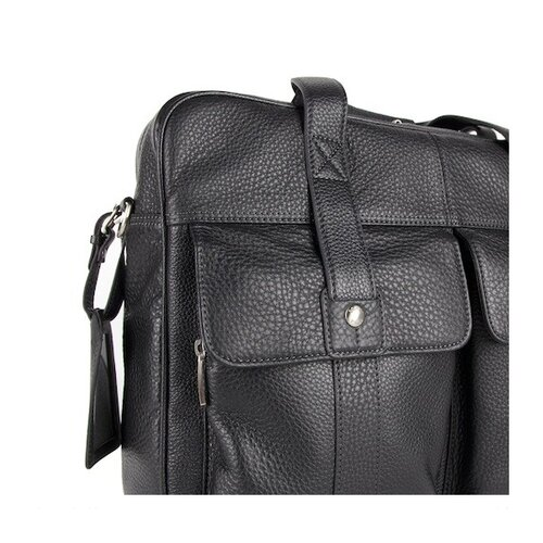 Bosca Tribeca Leather Laptop Dispatch