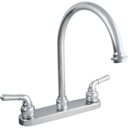 LDR Double Handle Centerset Kitchen Faucet