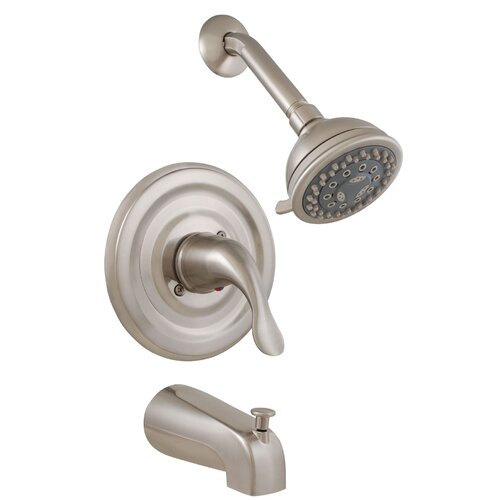 Kingston Brass Legacy Three Handle Tub Shower Faucet Reviews Wa