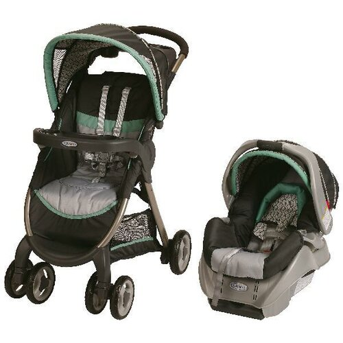 Graco Fast Action Fold Classic Connect Travel System