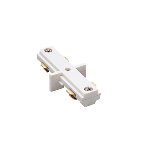 """WAC Lighting Two Circuit Lighting System Straight Line """"I"""" Track Connector for Juno Series"""