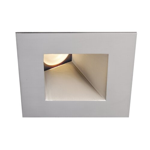WAC LED Downlight Wall Washer Square 3 Recessed Trim