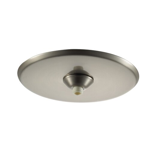 Quick Connect Round Surface Mount Canopy in Brushed Nickel