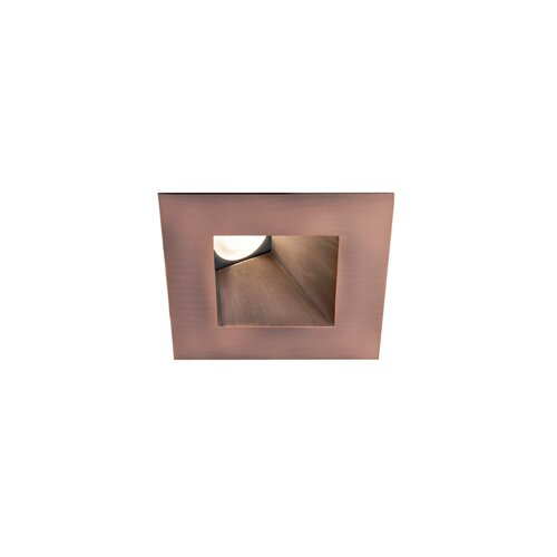 """WAC Lighting LED Downlight Wall Washer Square 3"""" Recessed Trim"""