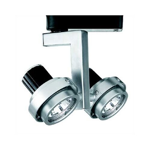 WAC Lighting 2 Light Double Adjustable Low Voltage Track Heads