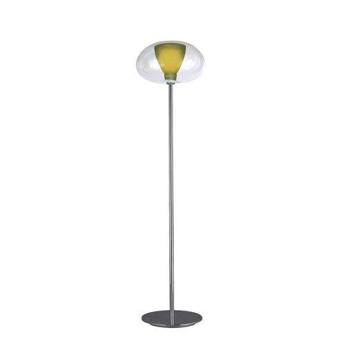 George Kovacs by Minka Soft Floor Lamp with Glass Shade