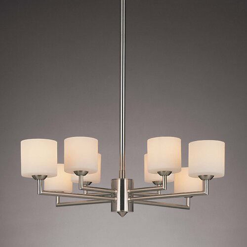 George Kovacs by Minka 8 Light Chandelier