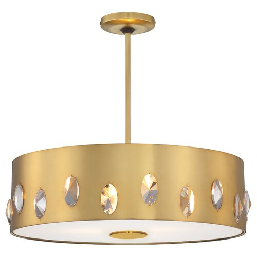 George Kovacs by Minka 4 Light Drum Pendant