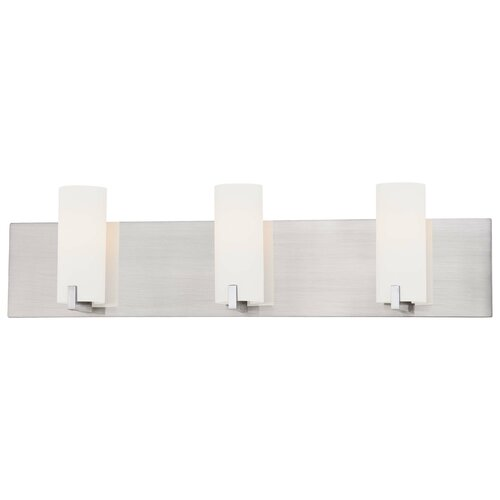 George Kovacs by Minka Tube 3 Light Bath Vanity Light