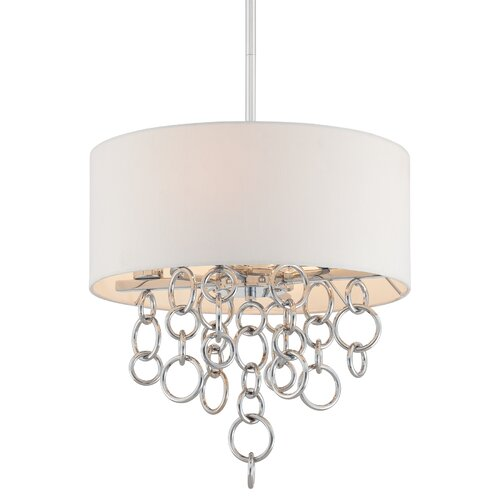 George Kovacs by Minka Ringlets 4 Light Drum Pendant