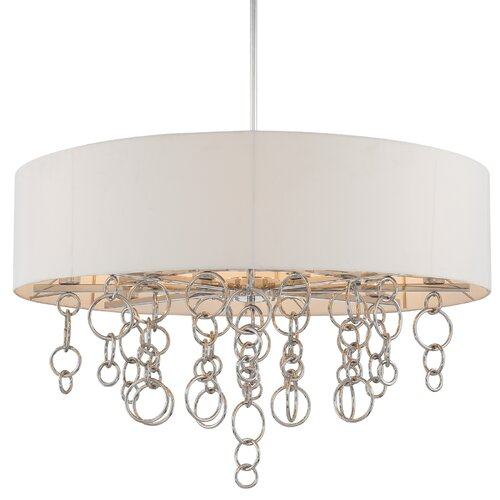 George Kovacs by Minka Ringlets 12 Light Drum Pendant