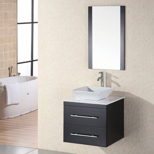 "Design Element Portland Elton 26"" Single Sink Vanity Set"