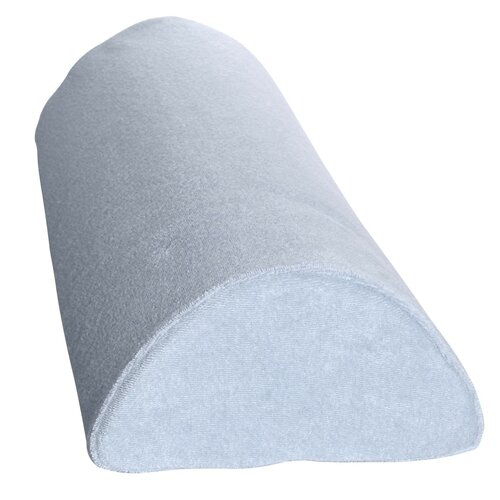 Deluxe Comfort 4-in-1 Soft Half Moon Bolster Cover