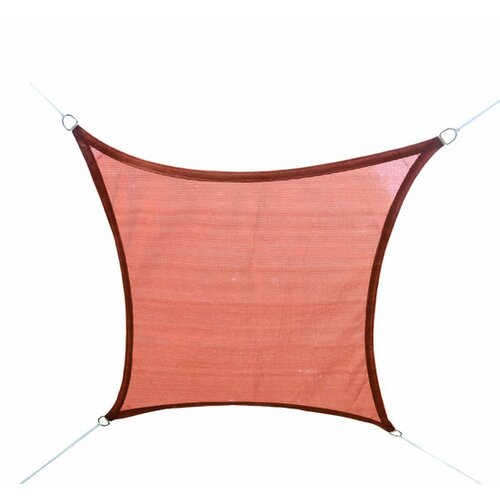 Outsunny 11' H x 11' W Shade Sail Canopy