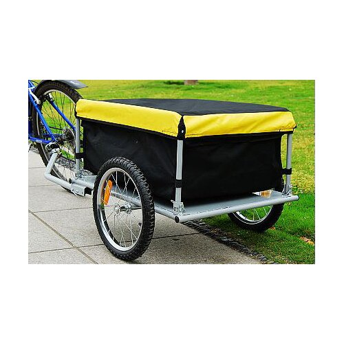 Aosom LLC Medium Cargo Bike Trailer