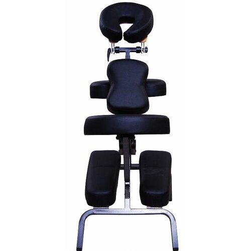 """Aosom LLC 3"""" Foam Portable Massage Chair"""