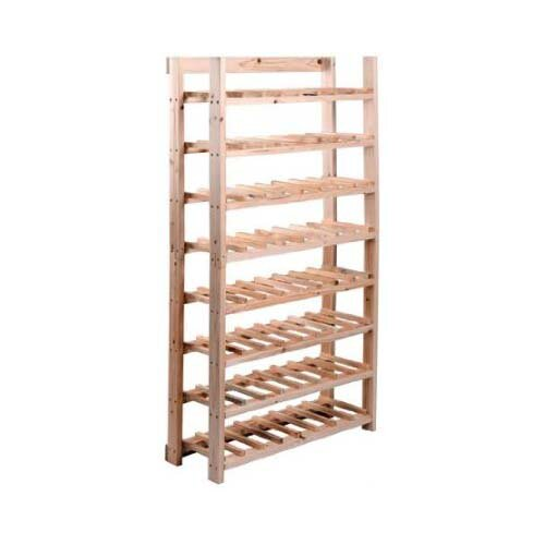 HomCom 120 Bottle Wine Rack