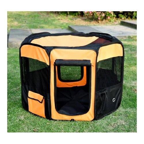 Deluxe Soft Sided Folding Pet Pen