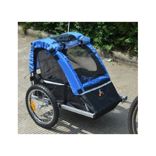 Aosom LLC Elite Jr Single Child Bike Trailer
