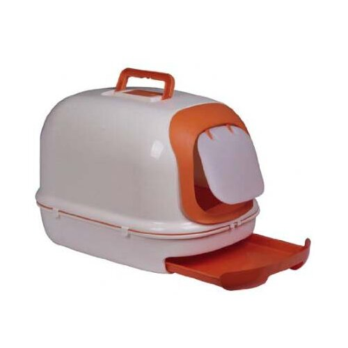 Aosom LLC Deluxe Easy-Clean Covered Cat Litter Box