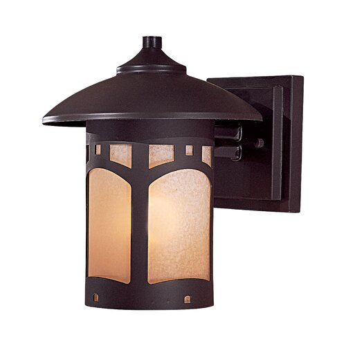 Great Outdoors by Minka Harveston Manor 1 Light Outdoor Wall Lantern