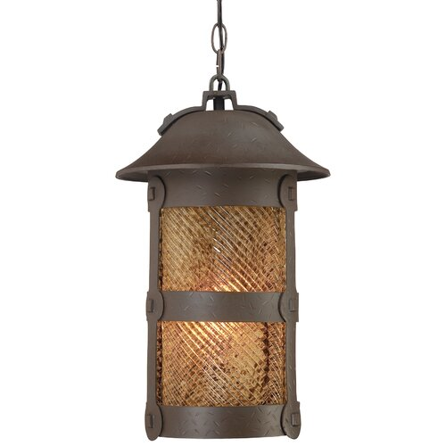 Great Outdoors by Minka Lander Heights 1 Light Indoor/Outdoor Chain Hanging Lantern